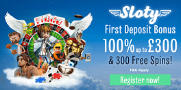 Sloty Casino UK Bonus