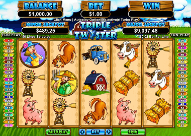Triple Twister Online Slot