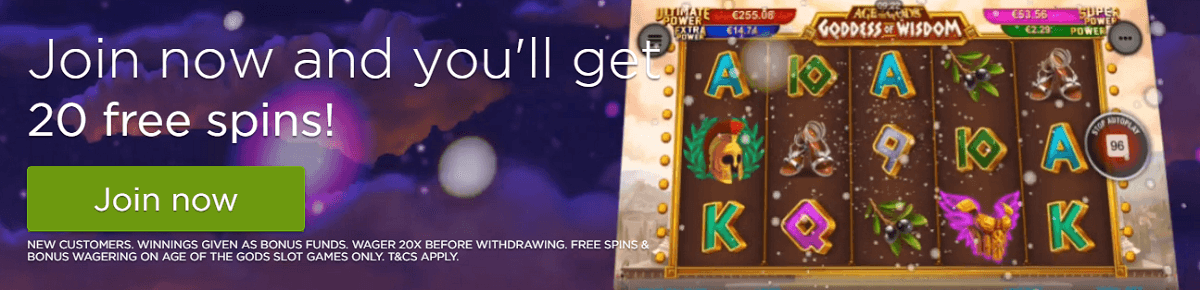 CasinoCom UK Online Casino Free Spins