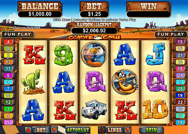 Coyote Cash Slot