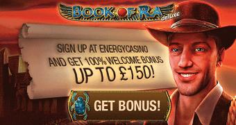 Energy Online Casino UK Bonus