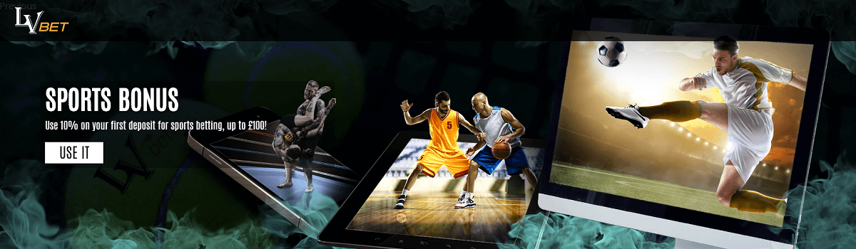 LVbet Sports Betting Bonus