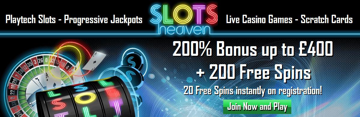 Slots Heaven Casino UK Online Casino