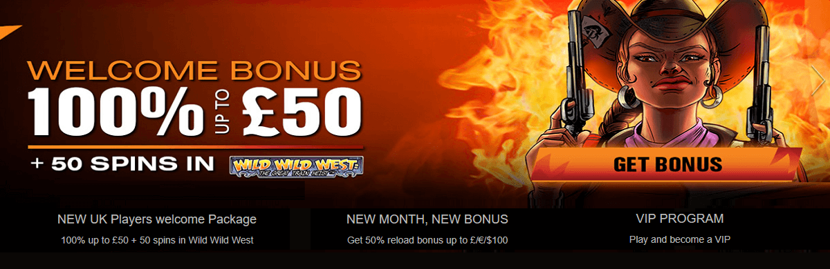 Wild Slots Casino Welcome Bonus UK
