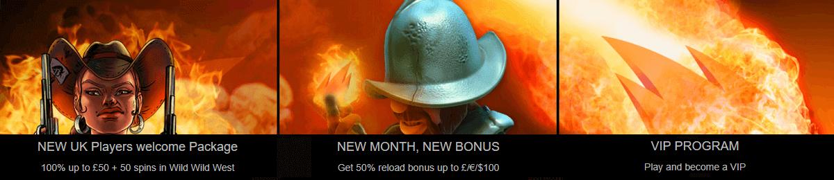 Wild Slots UK Casino Welcome Bonus