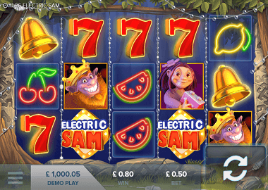 Electric Sam Online Slot