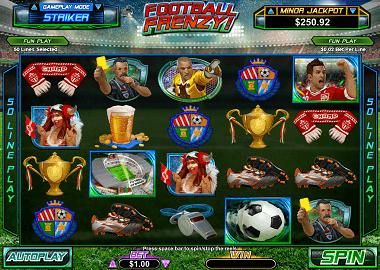 Football Frenzy Online Slot