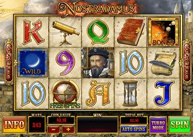Nostradamus Online Slot