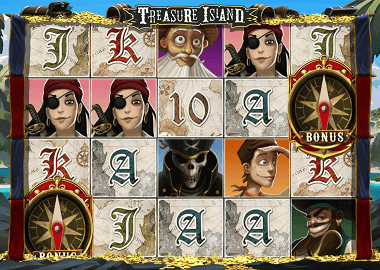 Treasure Island Online Slot