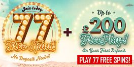 777 Casino UK Free Bonus