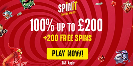 Spinit UK Free Spins