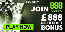 888 Casino UK Free Play