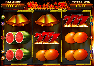 Blazin Hot 7s Slot