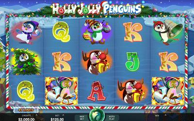 Holly Jolly Penguins Slot