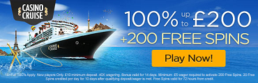 Casino Cruise UK Welcome Bonus