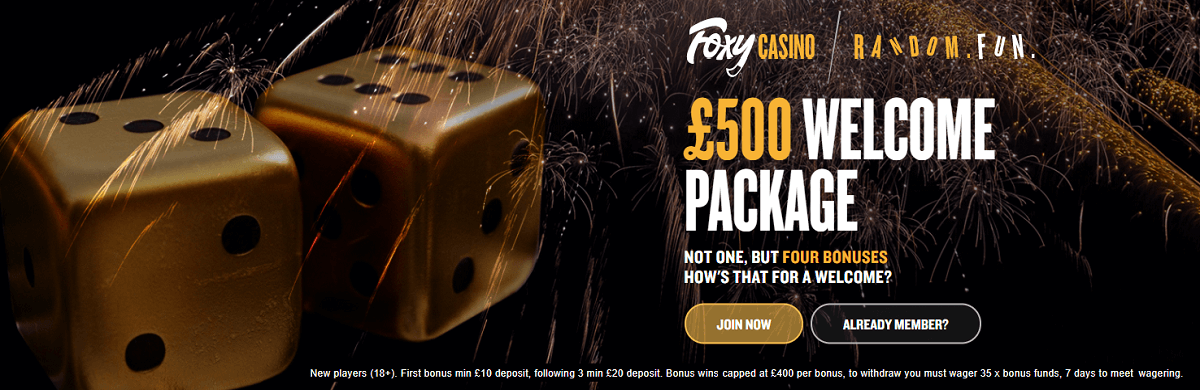 Foxy Casino UK Bonus
