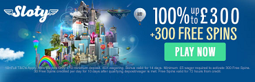 Sloty Casino UK Casino Bonus