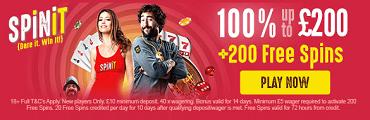 Spinit Casino Bonus UK