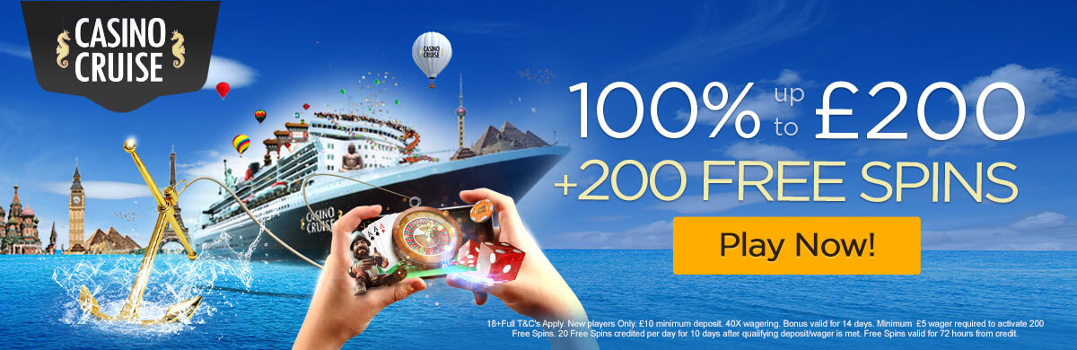 Casino Cruise New UK Bonus Offer