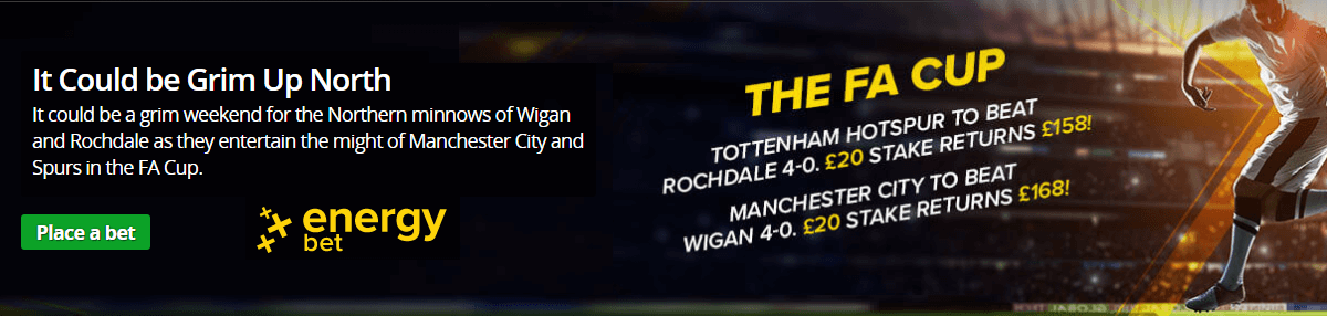 FA Cup Energy Special Bets
