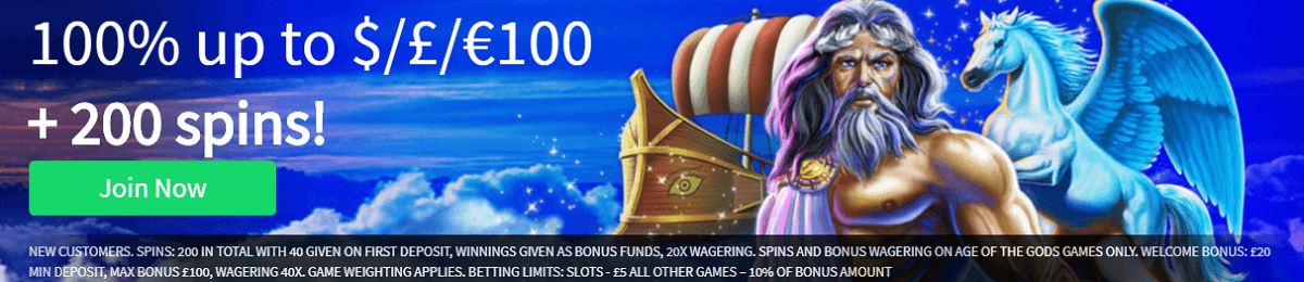 New Slots Heaven UK Online Casino Bonus