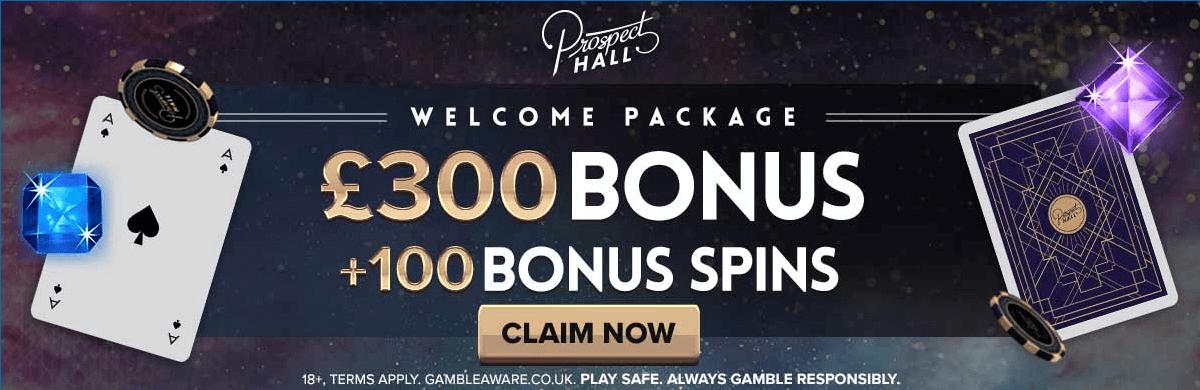 Prospect Hall UK Free Spins