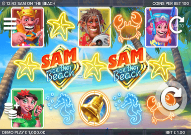 Sam on the Beach Online Slot