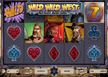 Wild Wild West Online Slot