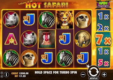 Hot Safari Slot Review Freeplay Uk Top Online Casinos