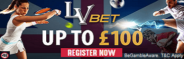 LVbet UK Sports Betting Bonus