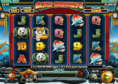 More Monkeys Online Slot