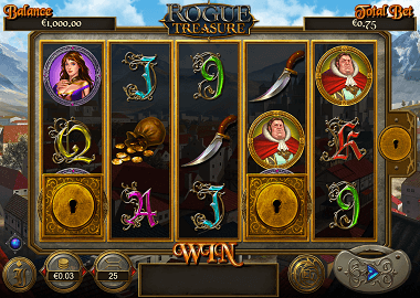 Rouge Treasure Online Slot