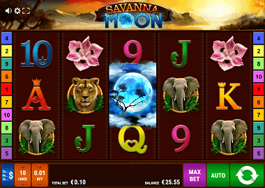 Savanna Moon Slot