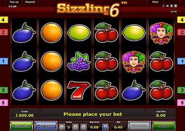 Sizzling 6 Slot