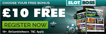 Slotboss Casino UK Welcome Bonus