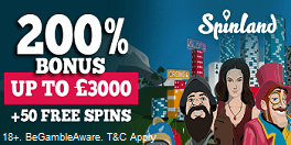 Spinland Casino UK Bonus Online Casino