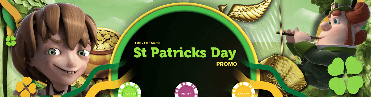 St Patricks Day Promo Bonus Spins
