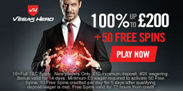 Vegas Hero New UK Bonus Offer