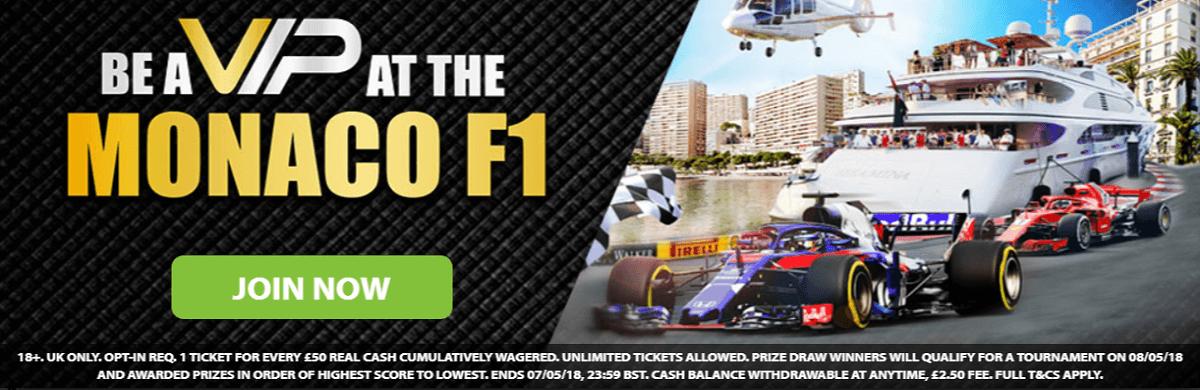 Monaco Grand Prix BGO Casino