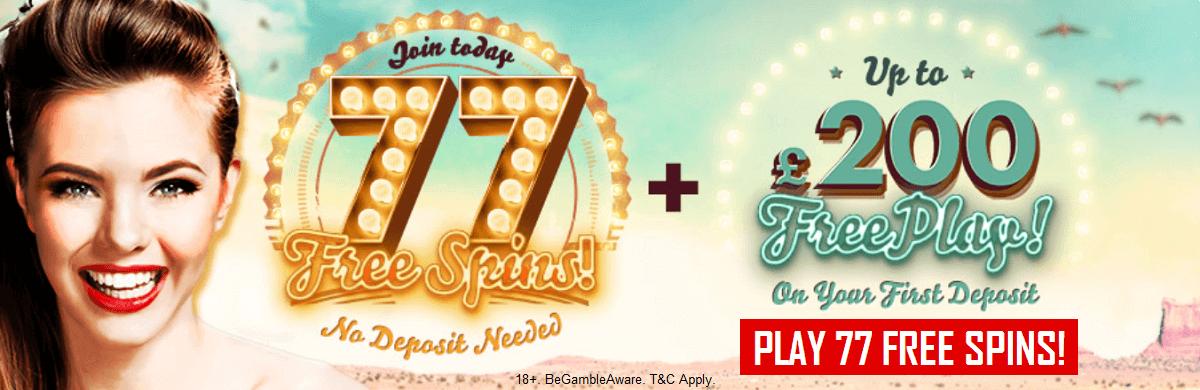 777 UK Casino Free Bonus