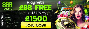 888 UK Free Welcome Bonus