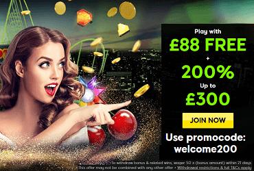 £88 No Deposit Bonus