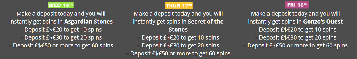 Casino Luck Free Spins Promo