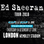 Ed Sheeran Wembley tickets