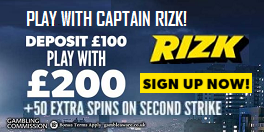 Rizk UK Casino Bonus Spins