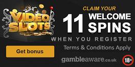 Videoslots Welcome Spins Bonus