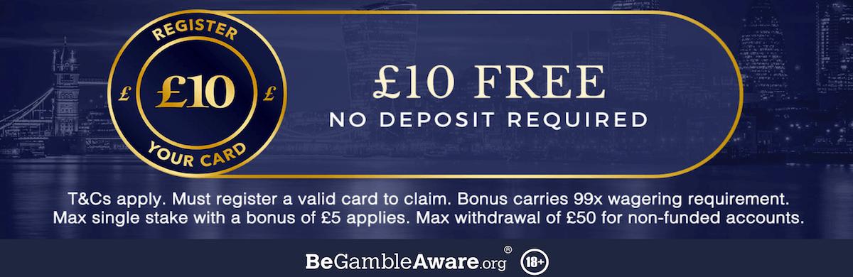 UK Casino Multiplier Bonus 10x