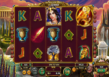 The Golden Owl of Athena Online Slot