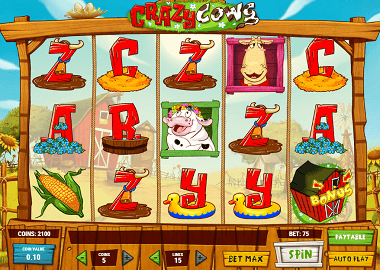 Crazy Cows Online Slot