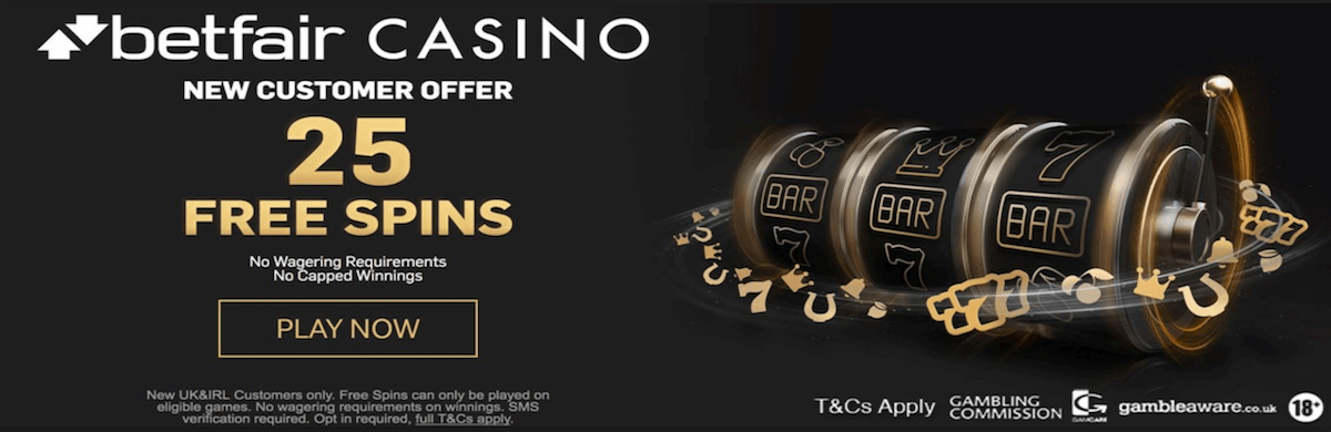 Betfair Free Spins